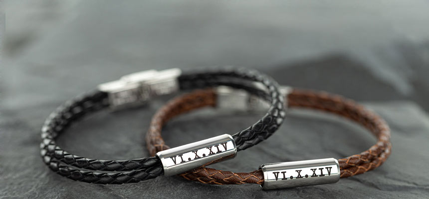 engraved matching bracelets