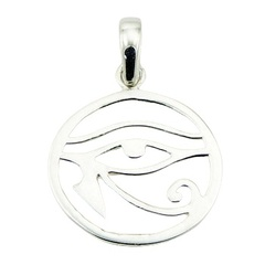 925 Silver Eye Of Horus Charm Egyptian Symbol Of Protection