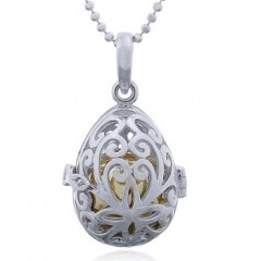 Silver Drop Harmony Locket Pendant