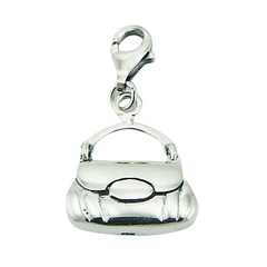 Handbag Charm Indispensable Female Accessory 925 Silver