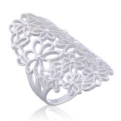Daisy in Bloom Ajoure 925 Silver Ring