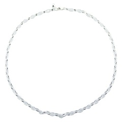 925 Sterling Silver Rollo Chain Bracelet Basic For Charms