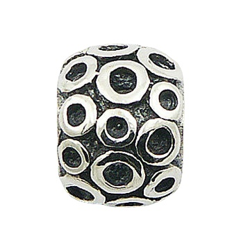 Balinese granulated silver beads